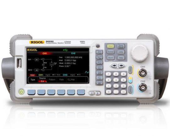 Generador Forma de Onda 100MHz, Rigol DG5102