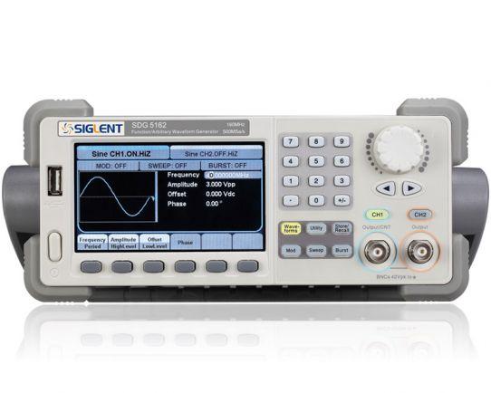 SDG5162 Generador Forma de Onda 160MHz, Siglent