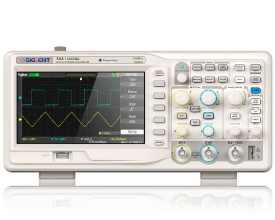Digital Oscilloscope 70MHz, 1GSa/s, Siglent SDS1072CML